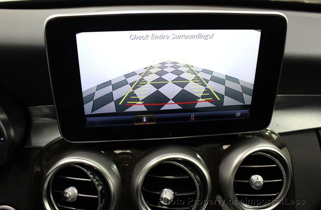 2018 Mercedes-Benz C-Class CERTIFIED C300 4MATIC awd LED BLIS BURMESTER NAV CAM PANO - 18315054 - 10