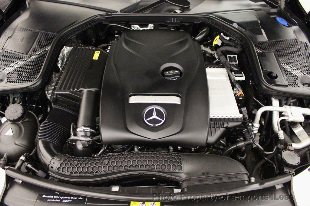 2018 Mercedes-Benz C-Class CERTIFIED C300 4MATIC awd LED BLIS BURMESTER NAV CAM PANO - 18315054 - 20