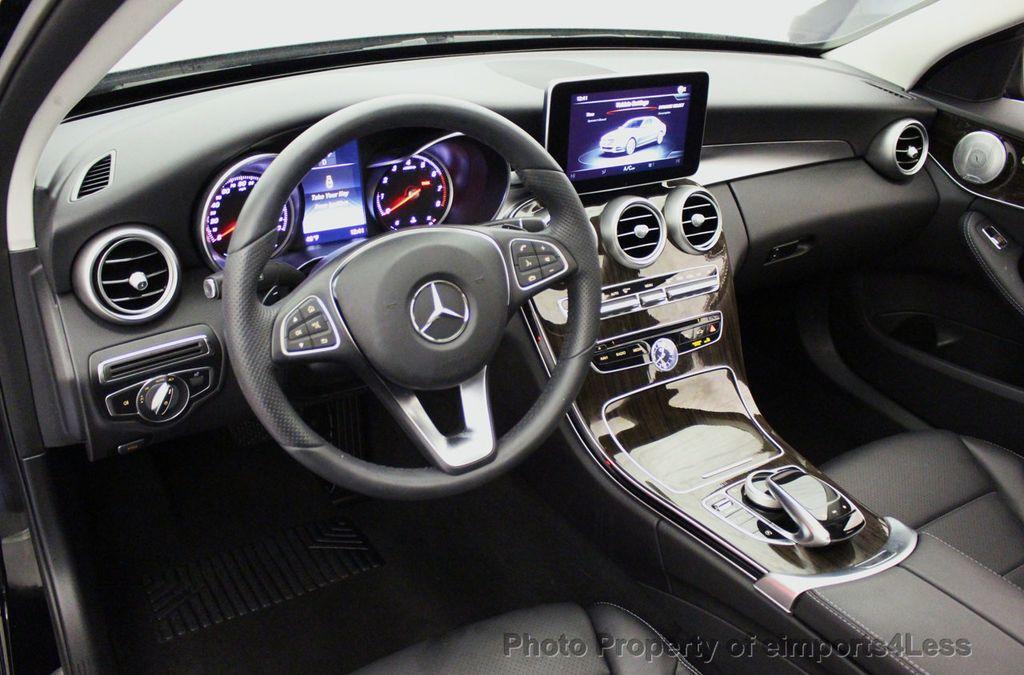 2018 Mercedes-Benz C-Class CERTIFIED C300 4MATIC awd LED BLIS BURMESTER NAV CAM PANO - 18315054 - 33