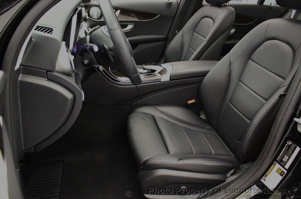2018 Mercedes-Benz C-Class CERTIFIED C300 4MATIC awd LED BLIS BURMESTER NAV CAM PANO - 18315054 - 49