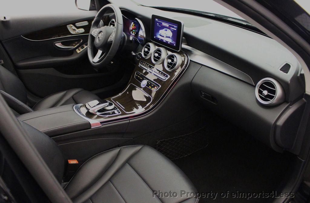 2018 Mercedes-Benz C-Class CERTIFIED C300 4MATIC awd LED BLIS BURMESTER NAV CAM PANO - 18315054 - 50