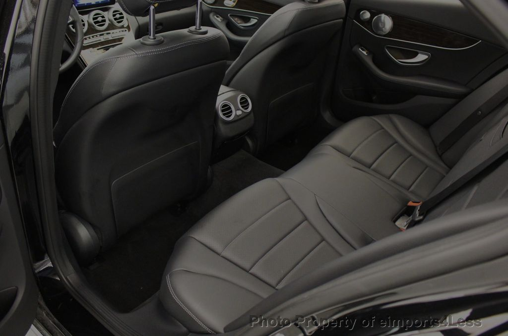 2018 Mercedes-Benz C-Class CERTIFIED C300 4MATIC awd LED BLIS BURMESTER NAV CAM PANO - 18315054 - 51