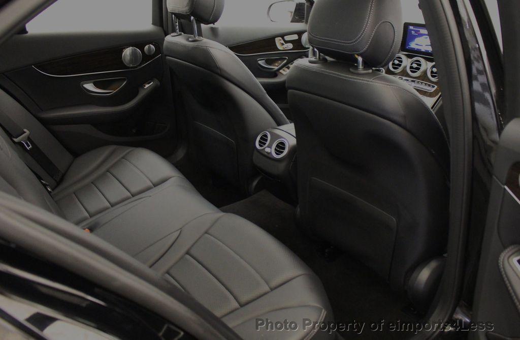2018 Mercedes-Benz C-Class CERTIFIED C300 4MATIC awd LED BLIS BURMESTER NAV CAM PANO - 18315054 - 52