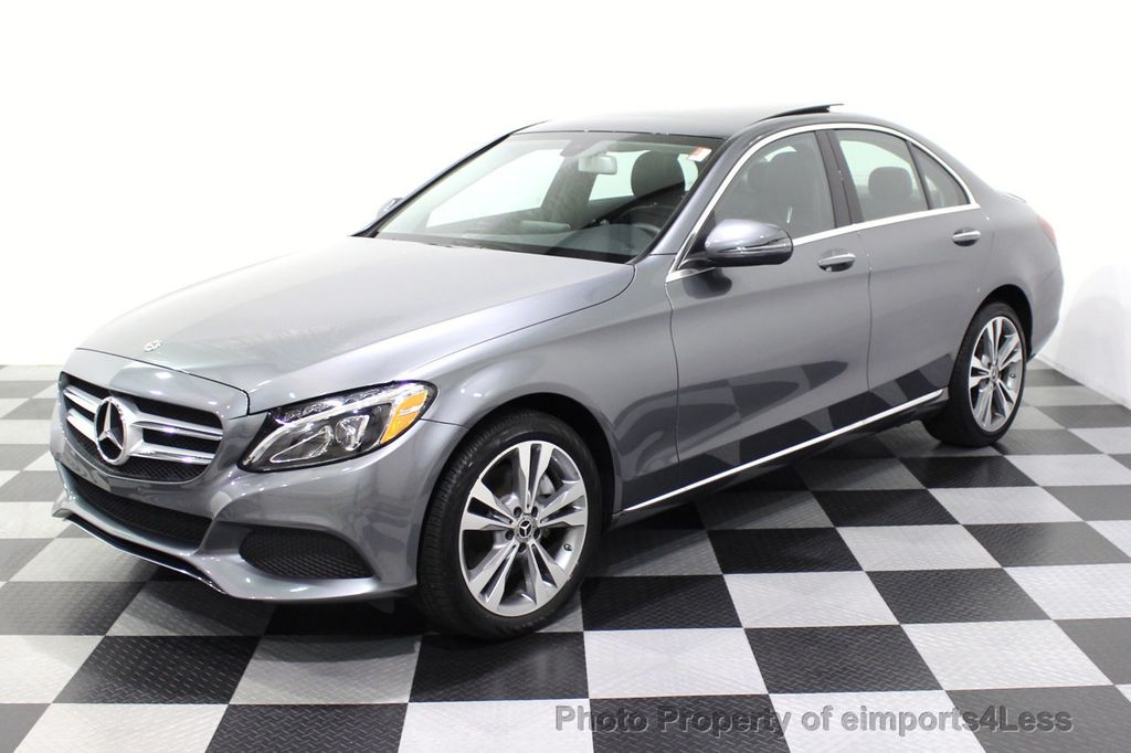 2018 Mercedes-Benz C-Class CERTIFIED C300 4MATIC AWD LED BLIS PANO NAV CAM - 18302575 - 14