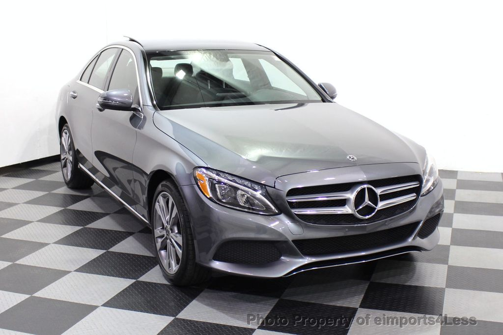 2018 Mercedes-Benz C-Class CERTIFIED C300 4MATIC AWD LED BLIS PANO NAV CAM - 18302575 - 15