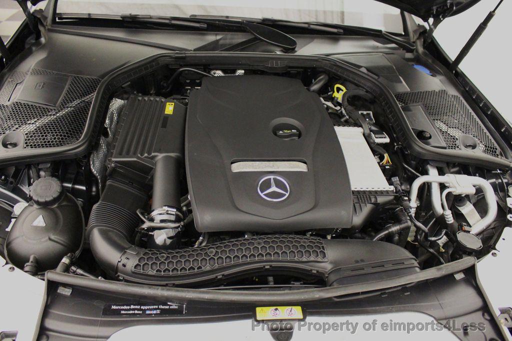 2018 Mercedes-Benz C-Class CERTIFIED C300 4MATIC AWD LED BLIS PANO NAV CAM - 18302575 - 20