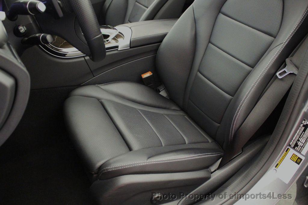 2018 Mercedes-Benz C-Class CERTIFIED C300 4MATIC AWD LED BLIS PANO NAV CAM - 18302575 - 23