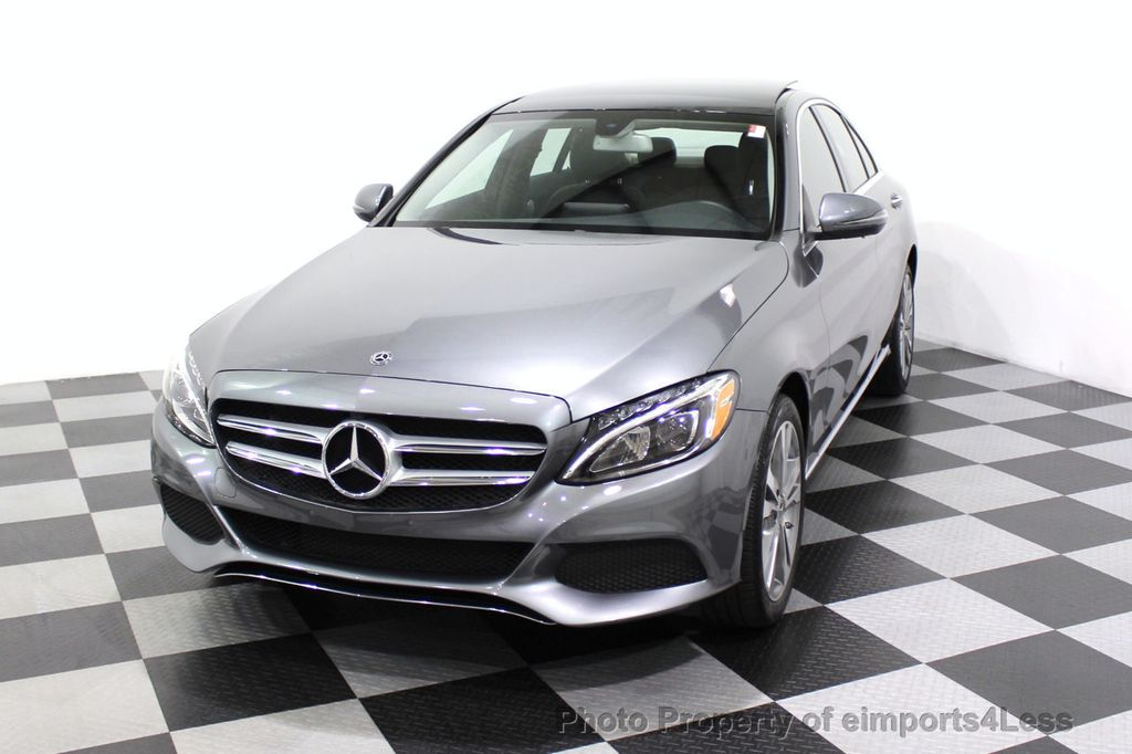 2018 Mercedes-Benz C-Class CERTIFIED C300 4MATIC AWD LED BLIS PANO NAV CAM - 18302575 - 28