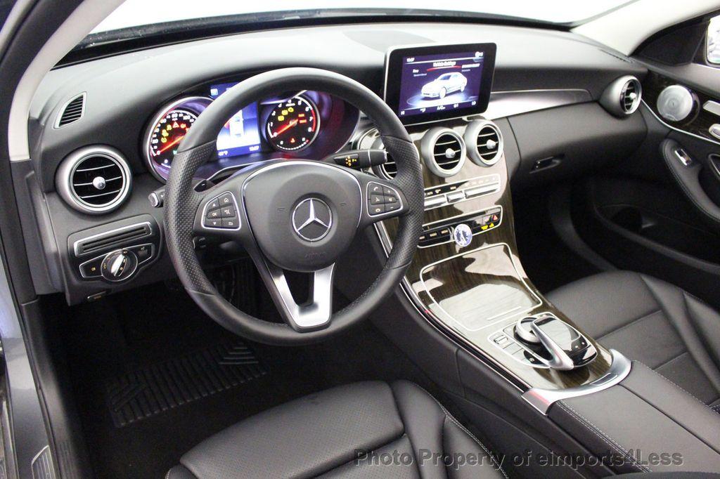2018 Mercedes-Benz C-Class CERTIFIED C300 4MATIC AWD LED BLIS PANO NAV CAM - 18302575 - 33