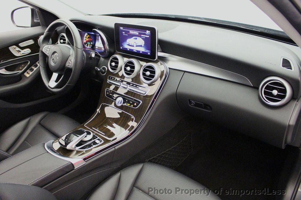 2018 Mercedes-Benz C-Class CERTIFIED C300 4MATIC AWD LED BLIS PANO NAV CAM - 18302575 - 35