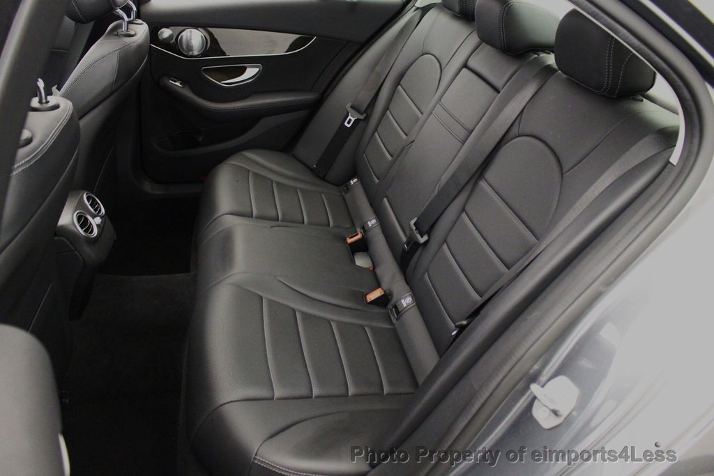 2018 Mercedes-Benz C-Class CERTIFIED C300 4MATIC AWD LED BLIS PANO NAV CAM - 18302575 - 36
