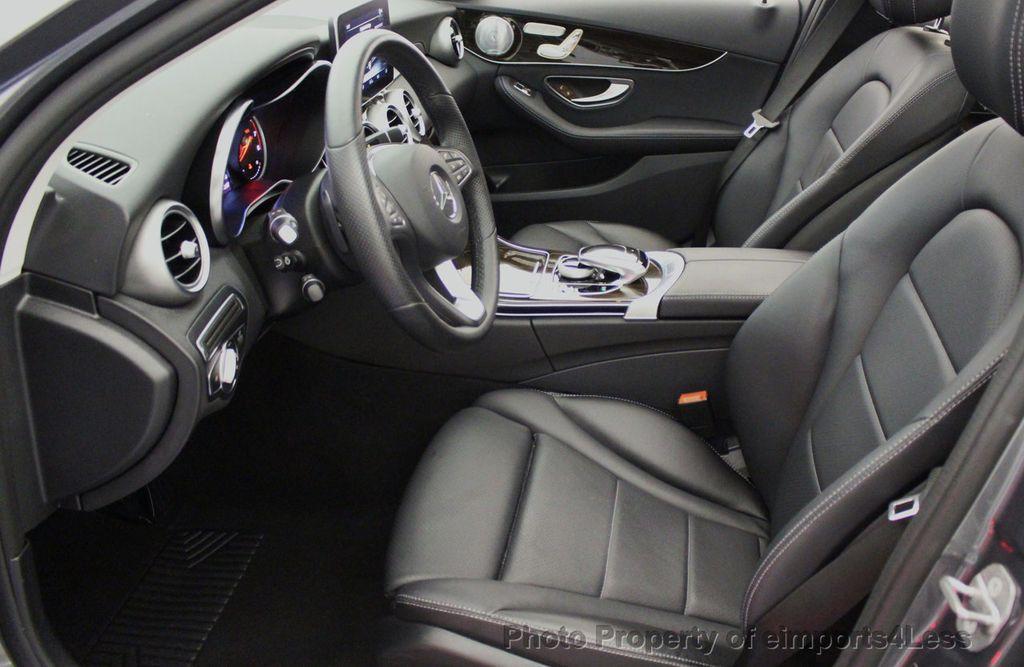 2018 Mercedes-Benz C-Class CERTIFIED C300 4MATIC AWD LED BLIS PANO NAV CAM - 18302575 - 38