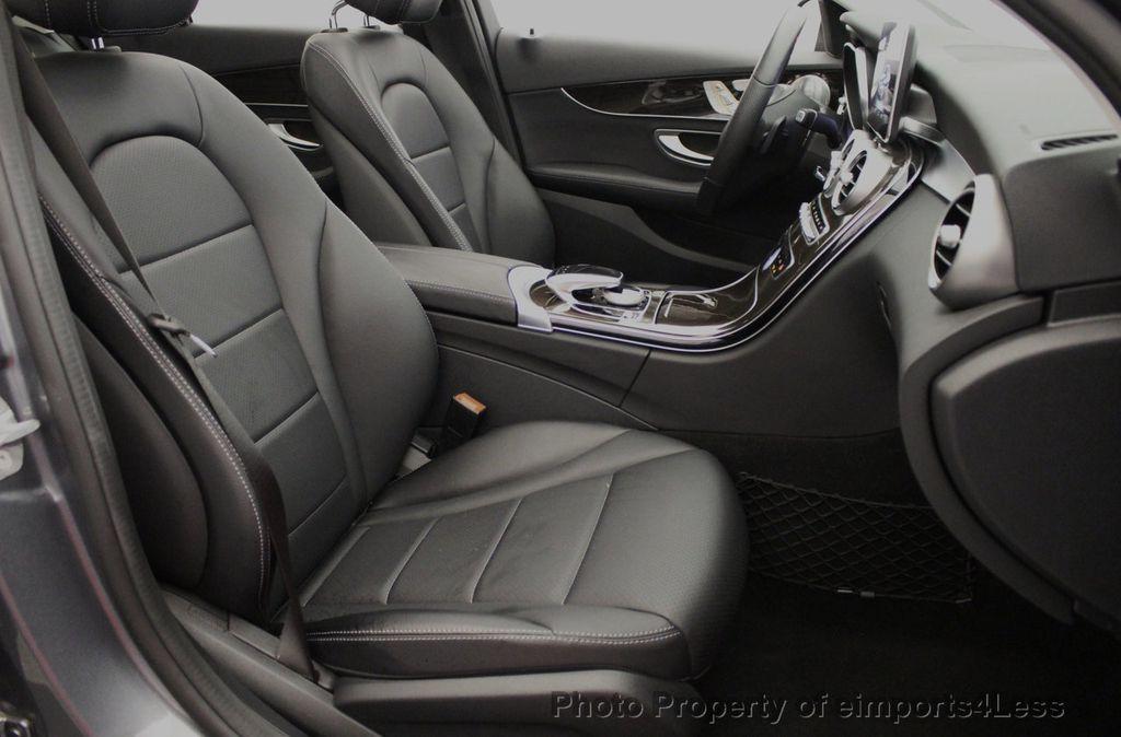 2018 Mercedes-Benz C-Class CERTIFIED C300 4MATIC AWD LED BLIS PANO NAV CAM - 18302575 - 39
