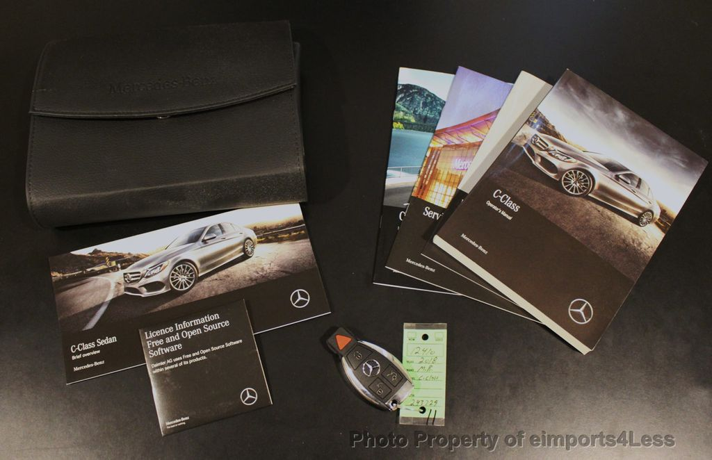 2018 Mercedes-Benz C-Class CERTIFIED C300 4MATIC AWD LED BLIS PANO NAV CAM - 18302575 - 40
