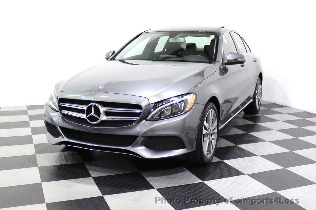 2018 Mercedes-Benz C-Class CERTIFIED C300 4MATIC AWD LED BLIS PANO NAV CAM - 18302575 - 44