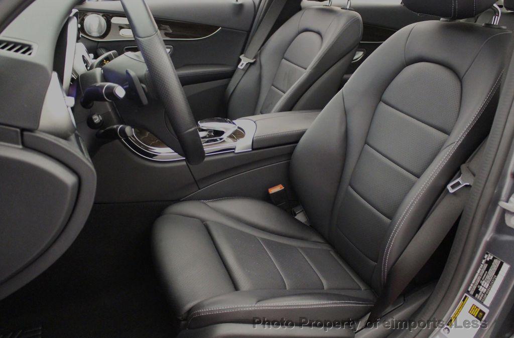 2018 Mercedes-Benz C-Class CERTIFIED C300 4MATIC AWD LED BLIS PANO NAV CAM - 18302575 - 48