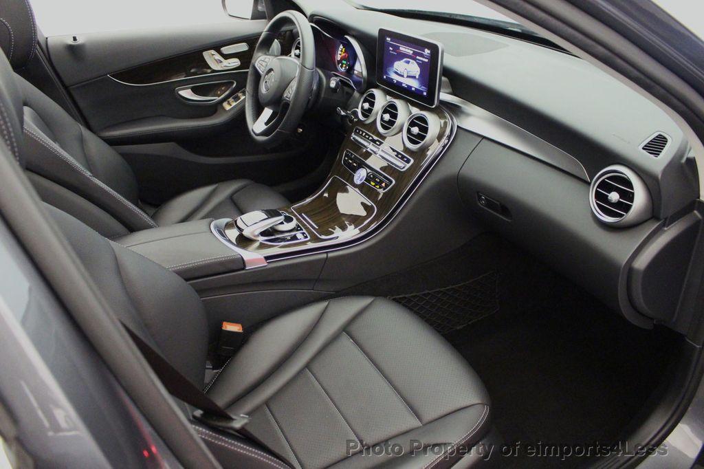 2018 Mercedes-Benz C-Class CERTIFIED C300 4MATIC AWD LED BLIS PANO NAV CAM - 18302575 - 49