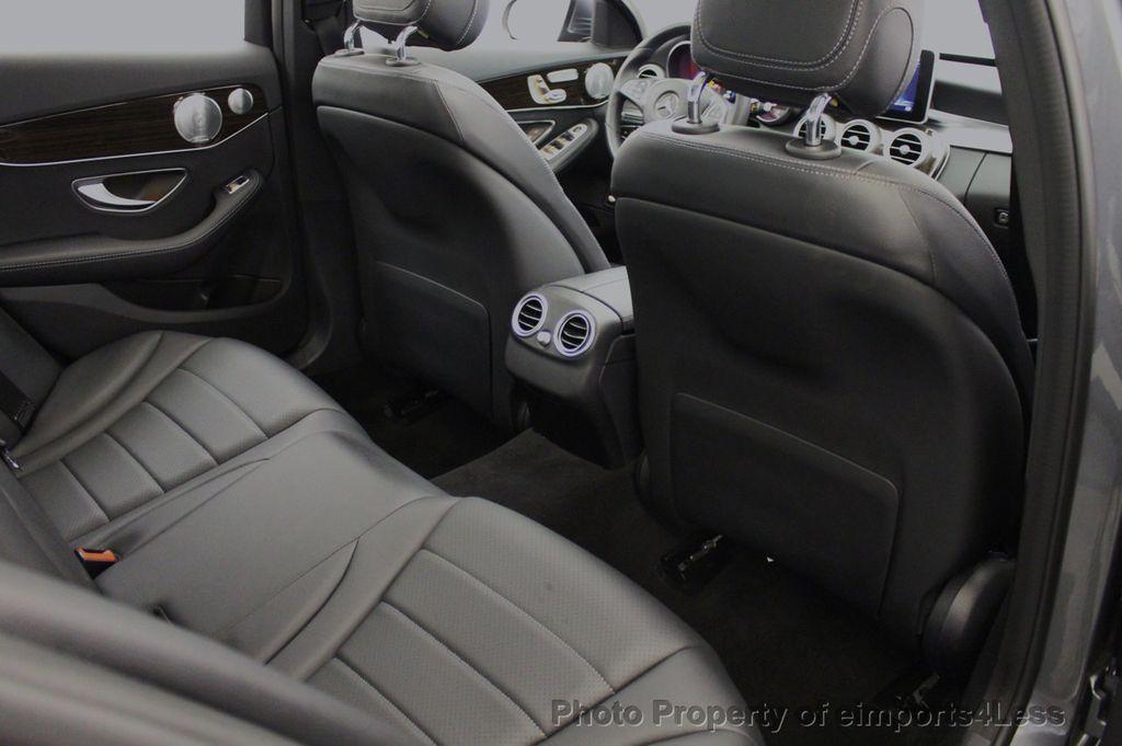 2018 Mercedes-Benz C-Class CERTIFIED C300 4MATIC AWD LED BLIS PANO NAV CAM - 18302575 - 51