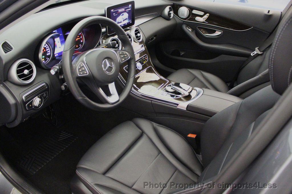 2018 Mercedes-Benz C-Class CERTIFIED C300 4MATIC AWD LED BLIS PANO NAV CAM - 18302575 - 5