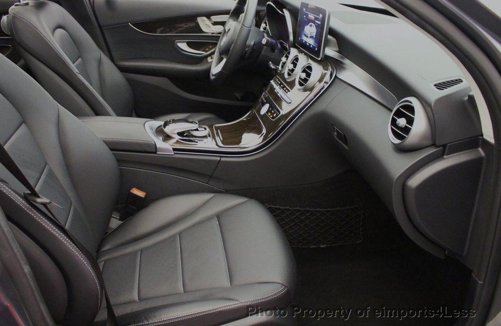 2018 Mercedes-Benz C-Class CERTIFIED C300 4MATIC AWD LED BLIS PANO NAV CAM - 18302575 - 6