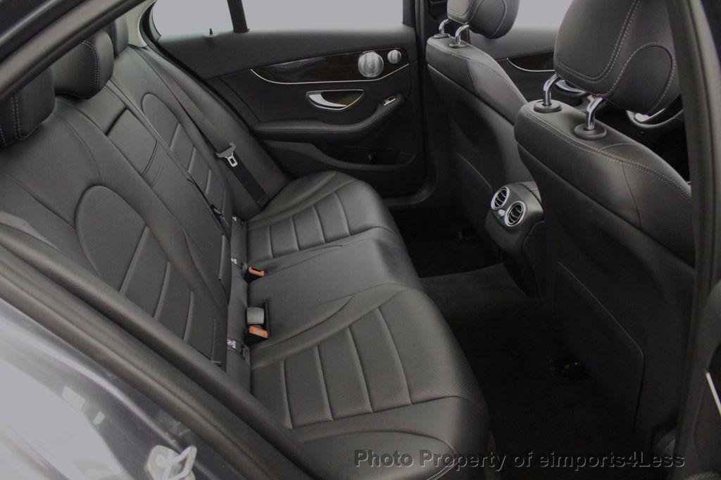 2018 Mercedes-Benz C-Class CERTIFIED C300 4MATIC AWD LED BLIS PANO NAV CAM - 18302575 - 8