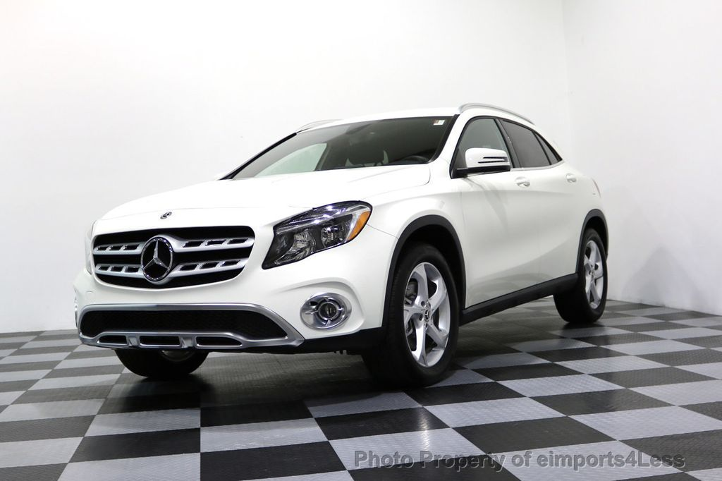 2018 Mercedes Benz Gla Certified Gla250 4matic Awd Blind Spot Camera Nav 17160379