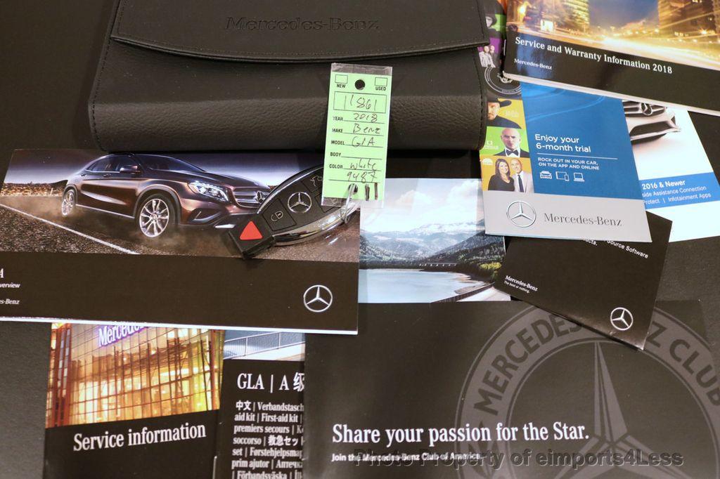 2018 Mercedes-Benz GLA CERTIFIED GLA250 4Matic AWD BLIND SPOT CAMERA NAV - 17160379 - 37