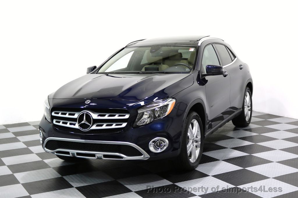 2018 Mercedes-Benz GLA CERTIFIED GLA250 4Matic AWD Blind Spot PANO CAMERA NAV - 17581582 - 0
