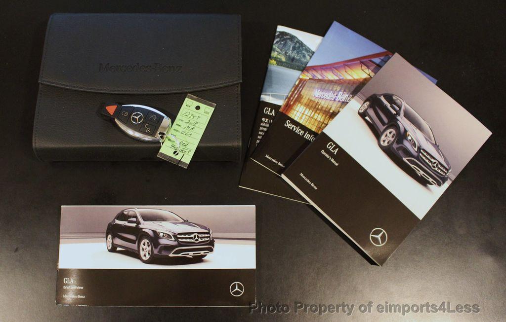 2018 Mercedes-Benz GLA CERTIFIED GLA250 4Matic AWD CAMERA PANO NAVI - 18196743 - 39