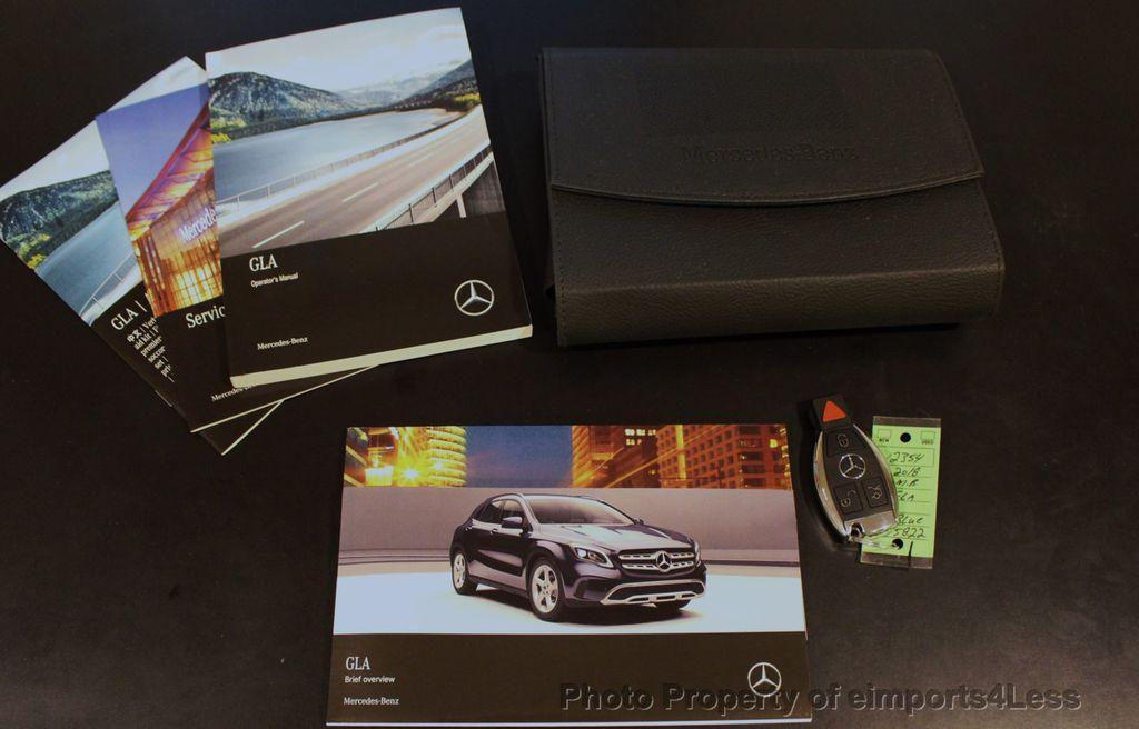 2018 Mercedes-Benz GLA CERTIFIED GLA250 4Matic AWD CAMERA PANO NAVI - 18196745 - 39