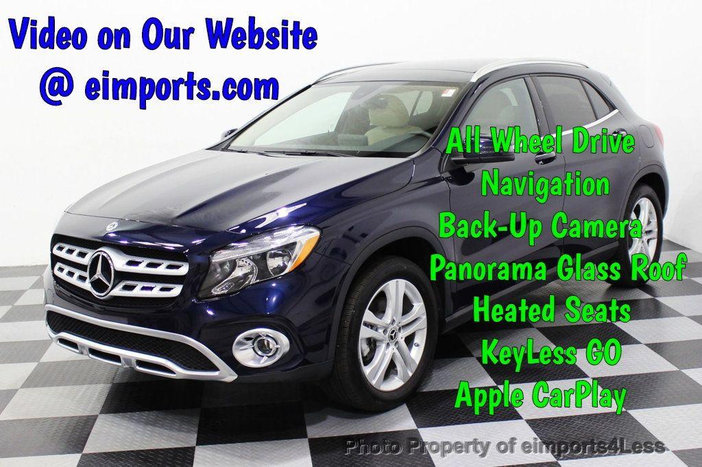 2018 Mercedes-Benz GLA CERTIFIED GLA250 4Matic AWD CAMERA PANO NAVI - 18196747 - 0