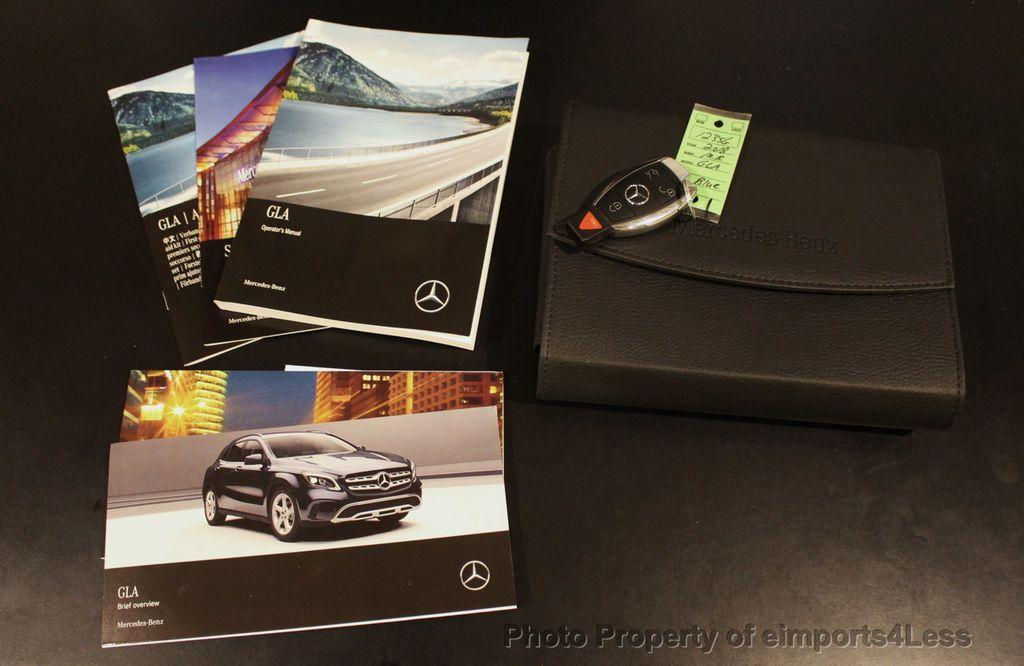 2018 Mercedes-Benz GLA CERTIFIED GLA250 4Matic AWD CAMERA PANO NAVI - 18196747 - 33