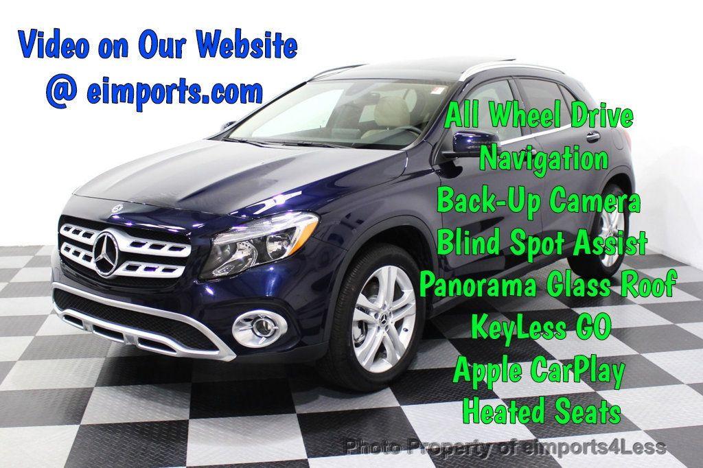2018 Mercedes-Benz GLA CERTIFIED GLA250 4Matic AWD CAMERA PANO NAVI - 18196748 - 0