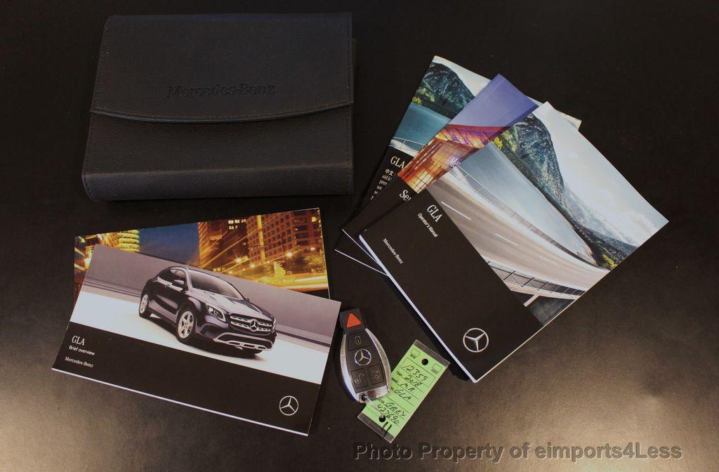 2018 Mercedes-Benz GLA CERTIFIED GLA250 4Matic AWD CAMERA PANO NAVI - 18196751 - 39