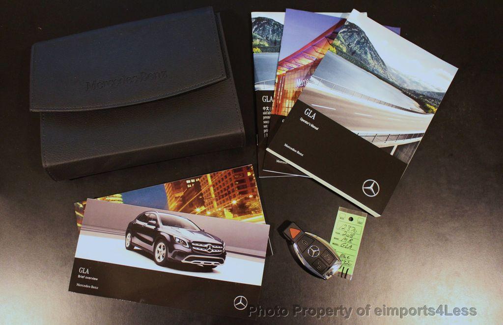 2018 Mercedes-Benz GLA CERTIFIED GLA250 4Matic AWD CAMERA PANO NAVI - 18196774 - 33