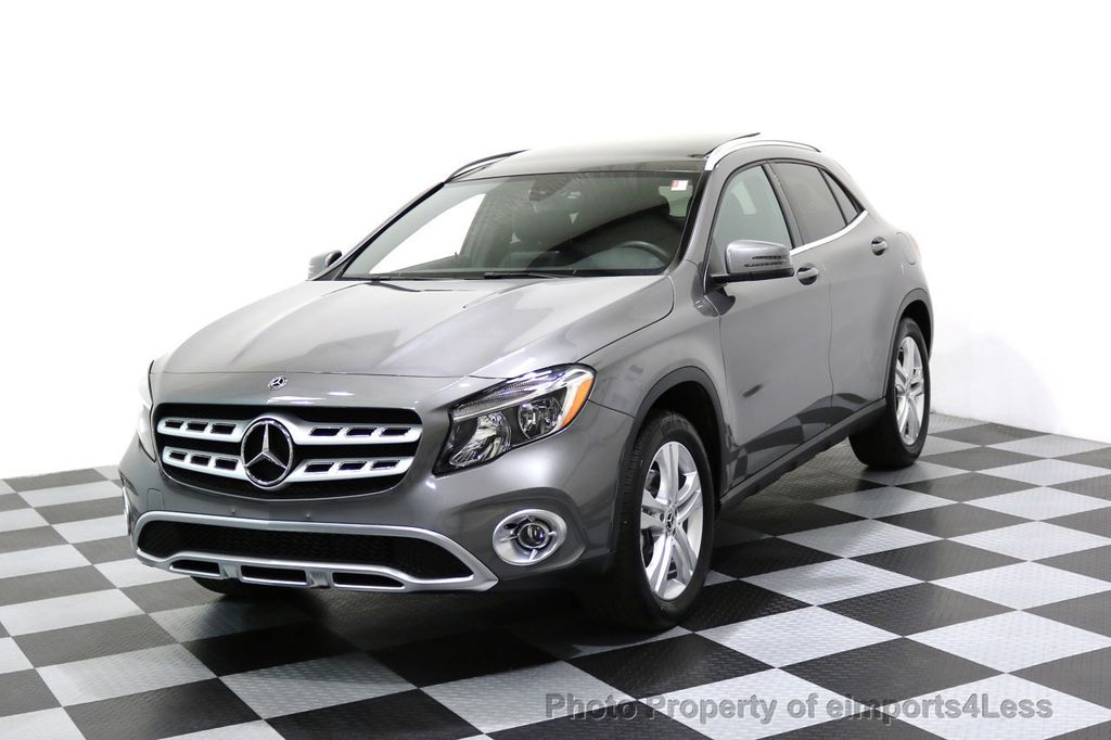 2018 Mercedes-Benz GLA CERTIFIED GLA250 4Matic AWD CAMERA PANO NAVIGATION - 17486339 - 0