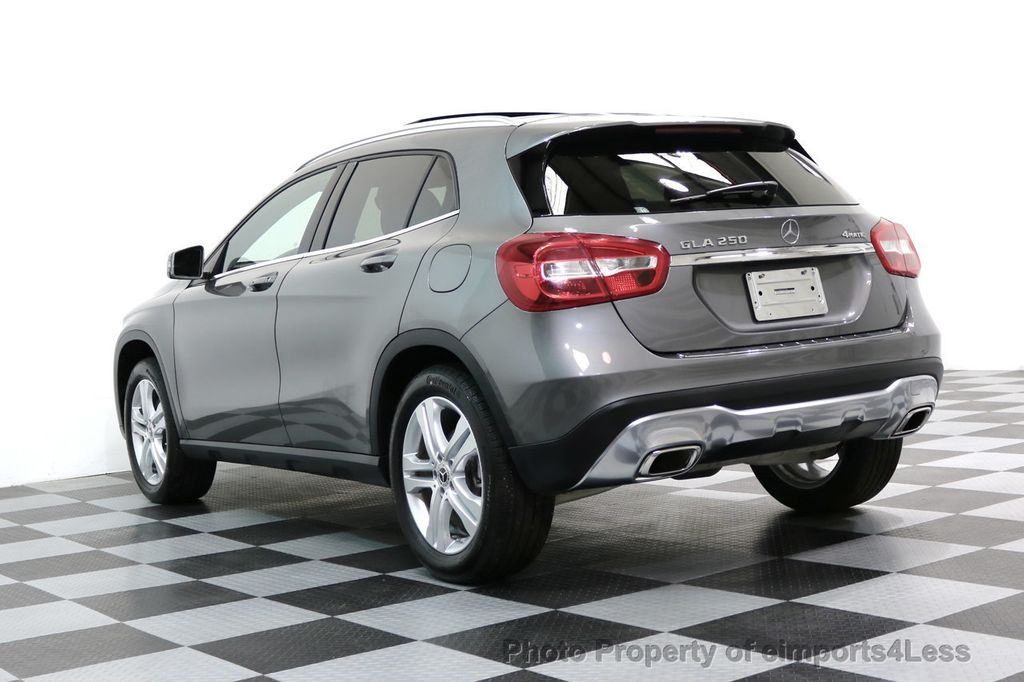 2018 Mercedes-Benz GLA CERTIFIED GLA250 4Matic AWD CAMERA PANO NAVIGATION - 17486339 - 46
