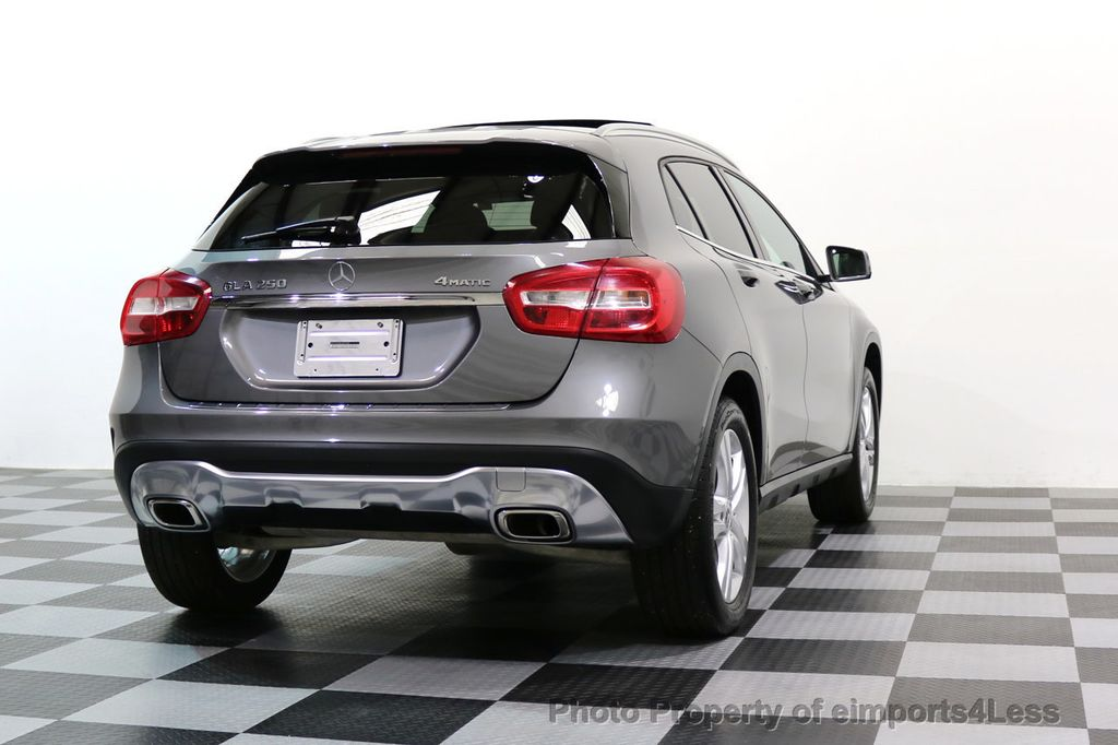 2018 Mercedes-Benz GLA CERTIFIED GLA250 4Matic AWD CAMERA PANO NAVIGATION - 17486339 - 51