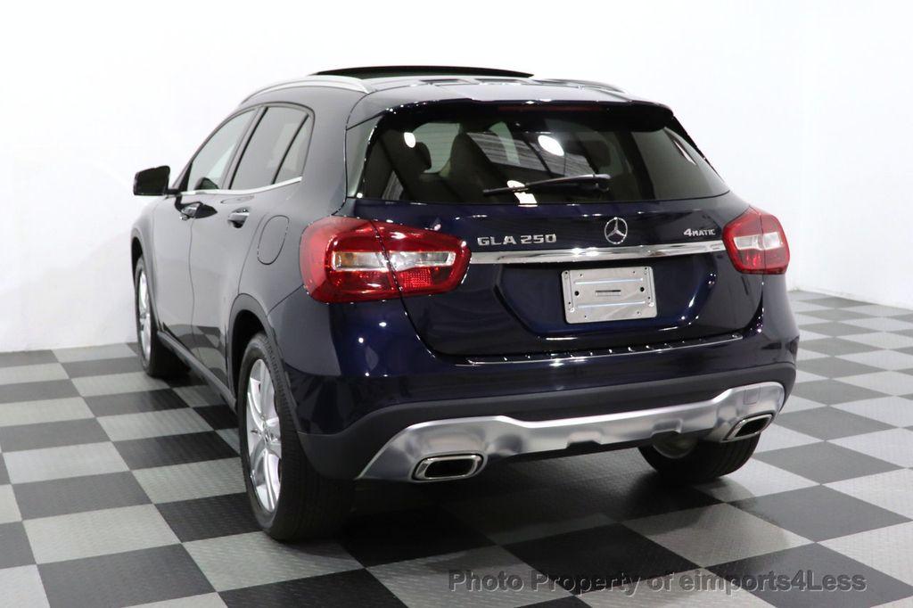 2018 Mercedes-Benz GLA CERTIFIED GLA250 4MATIC AWD NAV CAM PANO BLIS - 18467686 - 12