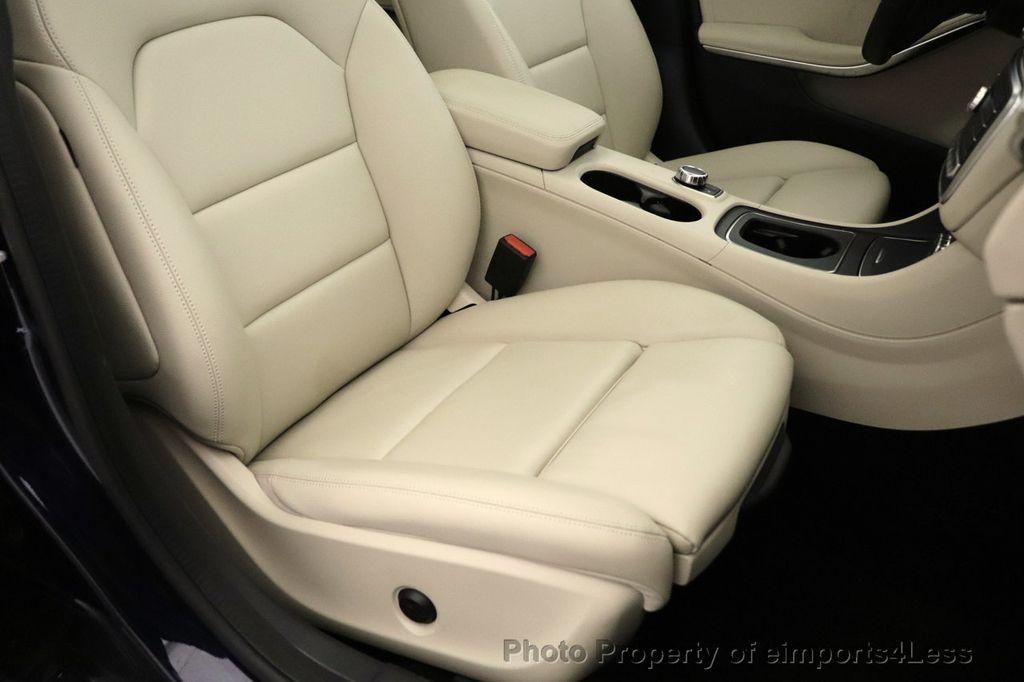2018 Mercedes-Benz GLA CERTIFIED GLA250 4MATIC AWD NAV CAM PANO BLIS - 18467686 - 19