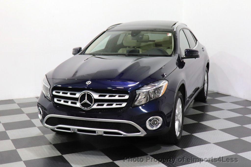 2018 Mercedes-Benz GLA CERTIFIED GLA250 4MATIC AWD NAV CAM PANO BLIS - 18467686 - 20