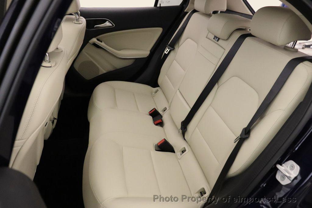 2018 Mercedes-Benz GLA CERTIFIED GLA250 4MATIC AWD NAV CAM PANO BLIS - 18467686 - 28