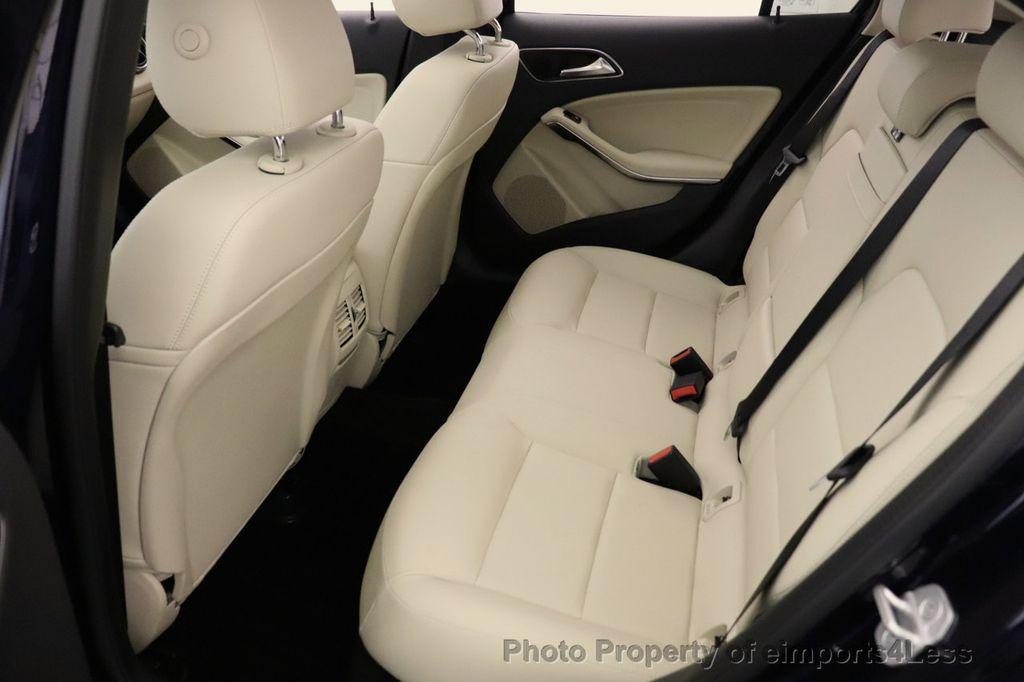 2018 Mercedes-Benz GLA CERTIFIED GLA250 4MATIC AWD NAV CAM PANO BLIS - 18467686 - 39