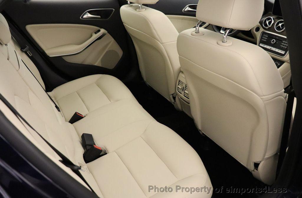 2018 Mercedes-Benz GLA CERTIFIED GLA250 4MATIC AWD NAV CAM PANO BLIS - 18467686 - 40