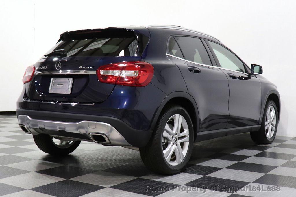 2018 Mercedes-Benz GLA CERTIFIED GLA250 4MATIC AWD NAV CAM PANO BLIS - 18467686 - 4