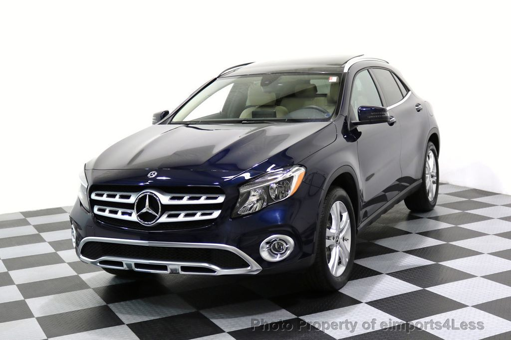 2018 Mercedes-Benz GLA CERTIFIED GLA250 4Matic AWD PANO CAMERA NAVI - 17486338 - 0