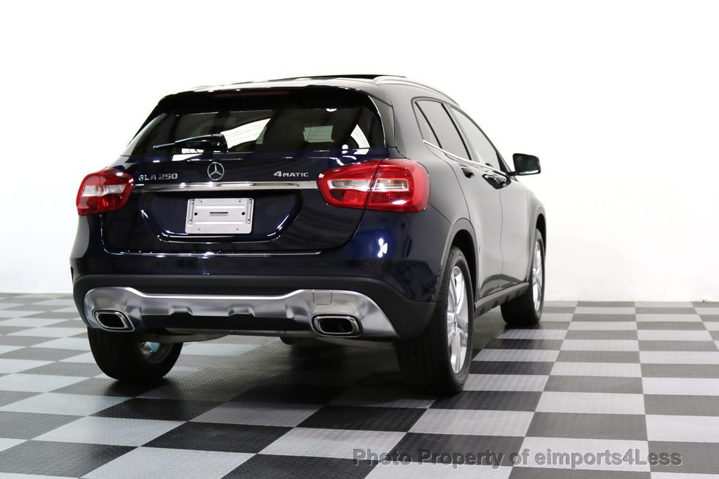 2018 Mercedes-Benz GLA CERTIFIED GLA250 4Matic AWD PANO CAMERA NAVI - 17486338 - 48