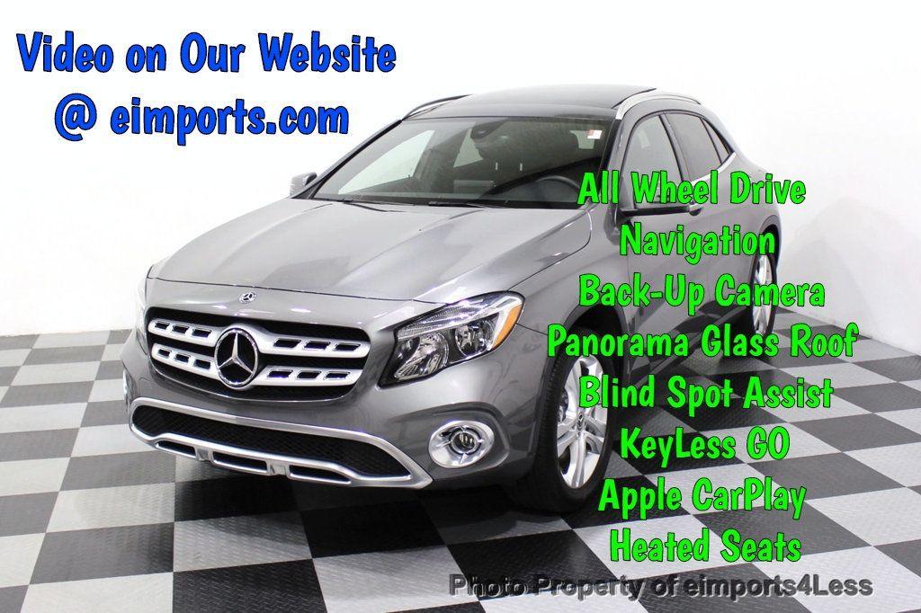 2018 Mercedes-Benz GLA CERTIFIED GLA250 4Matic AWD PANO CAMERA NAVI - 18196750 - 0