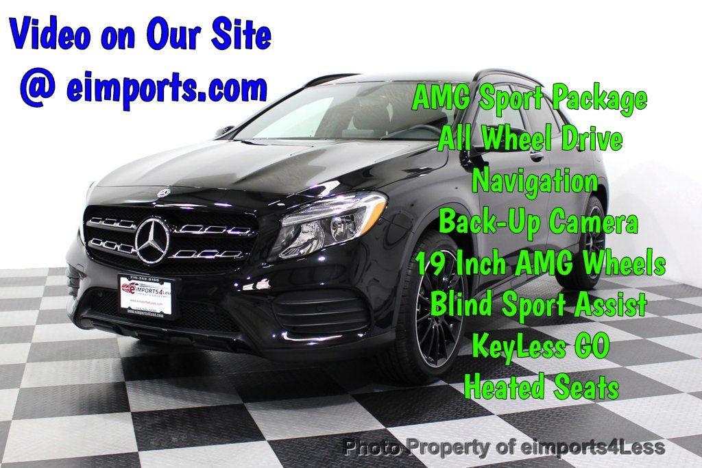 2018 Mercedes-Benz GLA CERTIFIED GLA250 AMG Sport 4MATIC AWD Nav Cam BLIS - 18227506 - 0