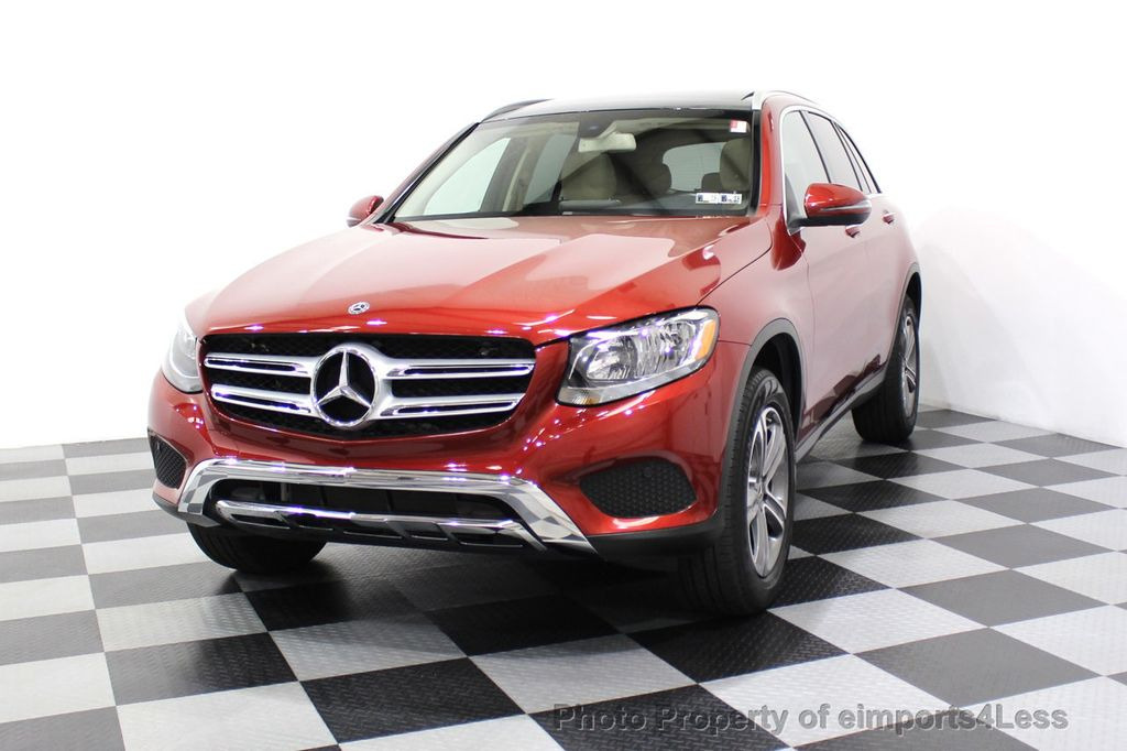 2018 Mercedes-Benz GLC CERTIFIED GLC300 4MATIC Pano Nav BLIS Camera - 18257420 - 14